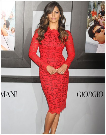 Camila Alves Looking All Kinds Of Red Hot, And Sexy, And Curvy, Oh My!