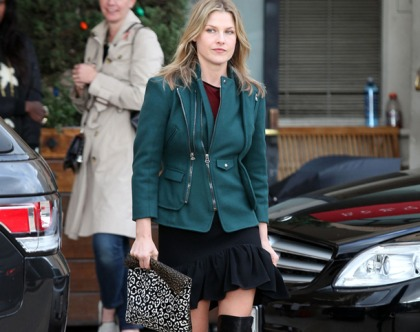 Ali Larter's Boots Were Made For Walkin'
