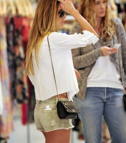 Audrina Patridge Wears Short Shorts