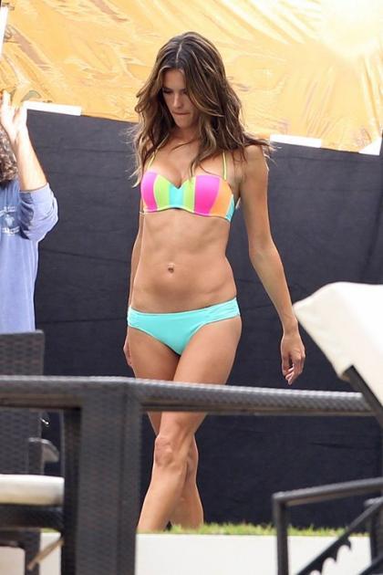 Alessandra Ambrosio Strips Down for Some Bikini Shots in Miami