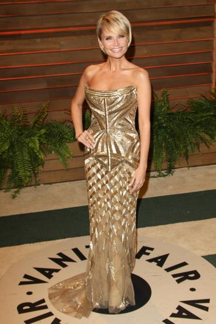 Kristin Chenoweth in Roberto Cavalli at the Oscars: budget Oscar statuette?