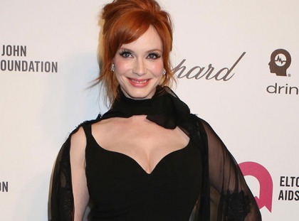 Christina Hendricks' Cleavage Saved The Night