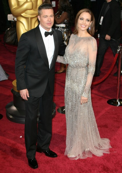 Angelina Jolie in sparkly Elie Saab at the Oscars: style vindication after The Leg?