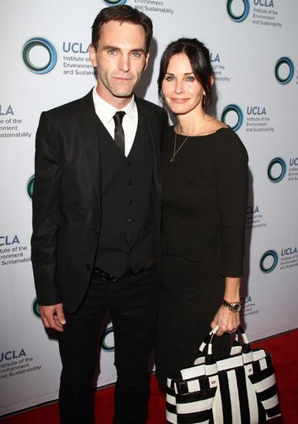 Courteney Cox Brings her Man to An Evening of Environmental Excellence