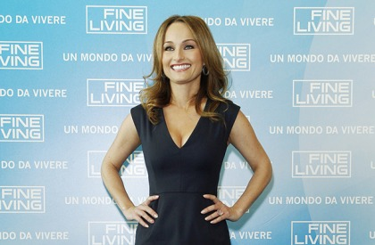 Giada De Laurentiis' Cleavage Is Looking Tasty