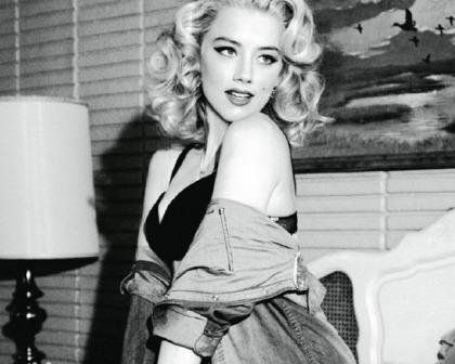 Amber Heard's Hotness In DT Magazine