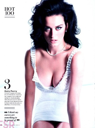 Katy Perry in Maxim Hot 100 of 2014