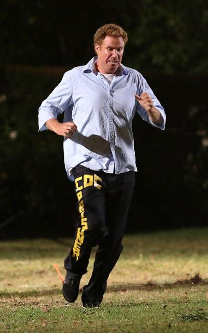 Will Ferrell Plays with Fire on