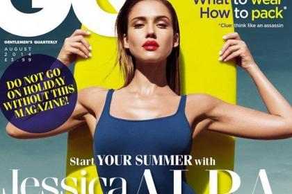 Jessica Alba Does GQ
