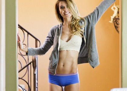 Audrina Patridge Is One Hot Lingerie Model