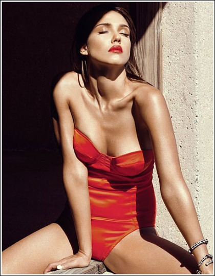 Jessica Alba Gets Damn Sexy In A Swimsuit For GQ!