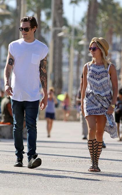Ashley Tisdale & Christopher French: Santa Monica Sweethearts