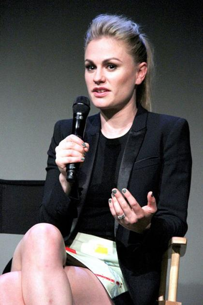 ?True Blood' Stars Anna Paquin & Stephen Moyer: 'Meet the Cast' Mates in SoHo