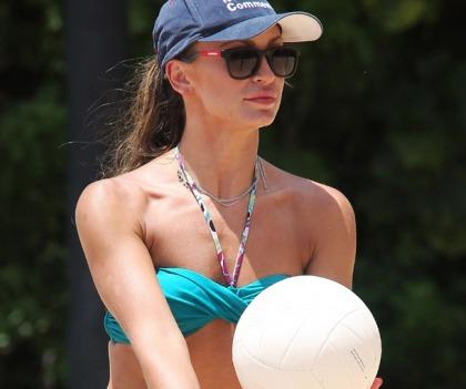 Karina Smirnoff And Sharna Burgess Bikini Pictures