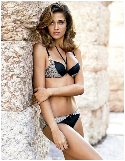Ana Beatriz Barros Hits Us With Brand Spanking New Lingerie Photos!