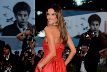 Alessandra Ambrosio Is Red Hot