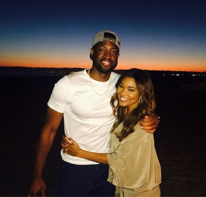Gabrielle Union & Dwyane Wade got married at a moated castle in Miami