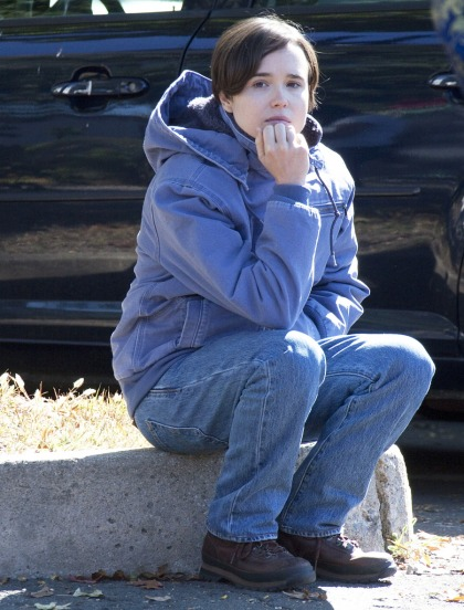 Ellen Page got a shaggy pixie cut for 'Freeheld?: adorable or not that great'
