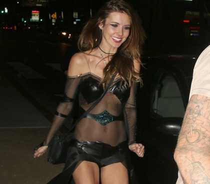Audrina Patridge Does Halloween Good