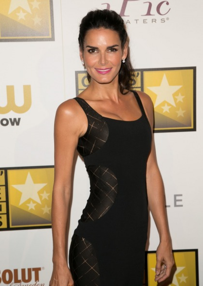ITW: Angie Harmon 'has always acted like she was single around the set'