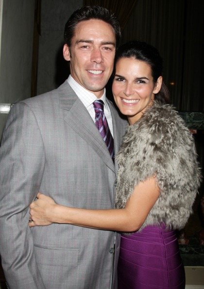 Angie Harmon got 'jealous' when Jason Sehorn started acting like a single guy