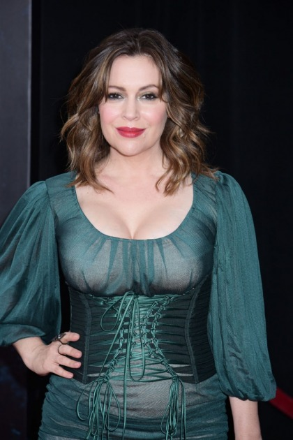 Alyssa Milano on breastfeeding: 'we shouldn't have to go in the bathroom'