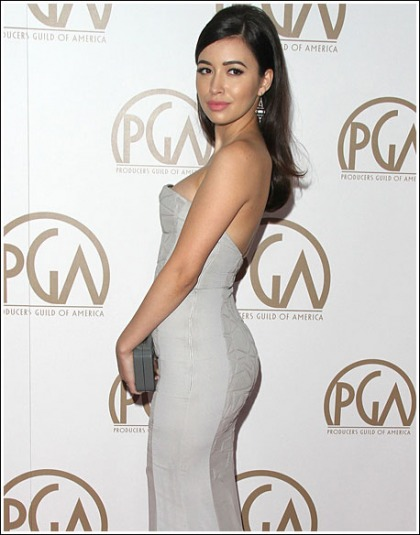Christian Serratos Gets Curvy, And Bootylicious, And Cleavagy, And Sexy, Oh My!