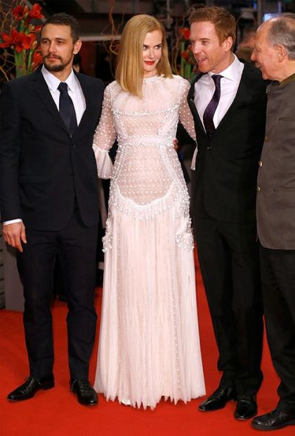 Nicole Kidman & James Franco Pose Up a Storm at 'Queen of the Desert' Photocall