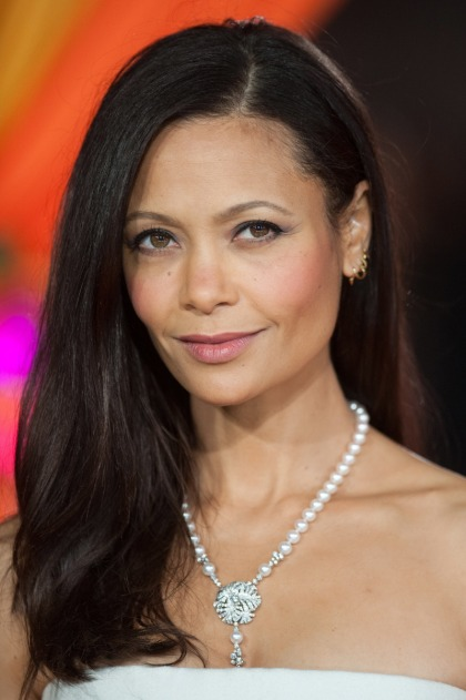 Thandie Newton posts IG pic of her mustache bleaching: TMI or cool?