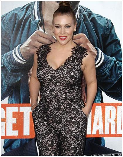 Alyssa Milano Looks Different/Super Cleavagy