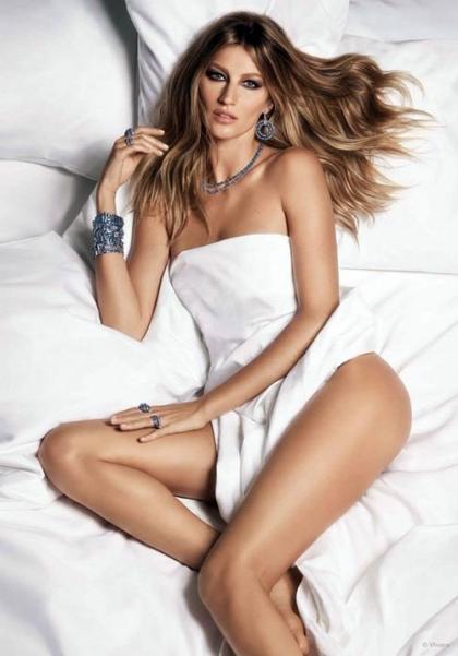 Nude Gisele Bundchen Sizzles In Vivara Jewelry Spring 2015 Campaign
