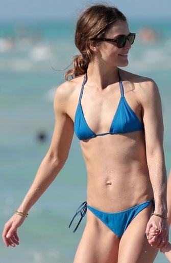 Keri Russell Sexy Bikini Body in Miami Vacation