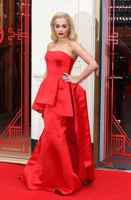 Rita Ora is Loopy in Post-Oral Surgery Clip!