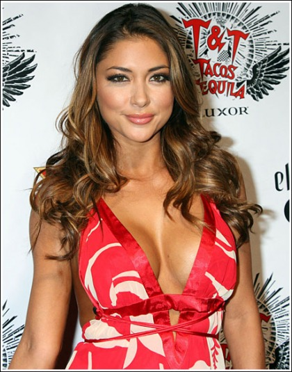 Arianny Celeste Busts Out Her Awesome Super Cleavage
