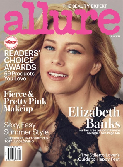 Elizabeth Banks covers Allure, picks the theme of her career: 'Girls win.'