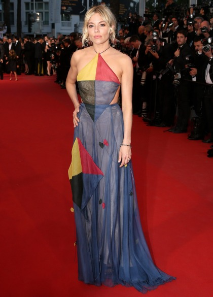 Sienna Miller in Valentino's 'kite dress' at Cannes: budget or beautiful'