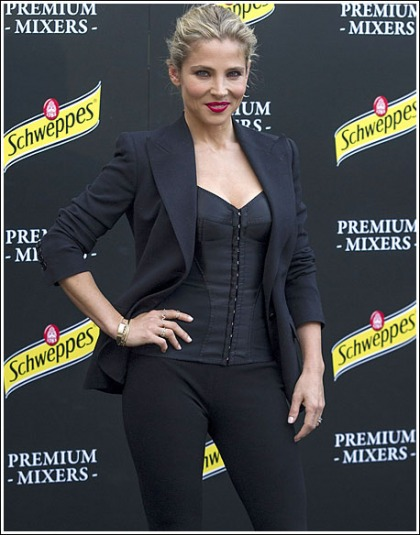Elsa Pataky Busting Out In A Corset' Yes Please!