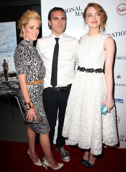 Emma Stone in Giambattista Valli at 'Irrational Man' premiere: cute or blah'