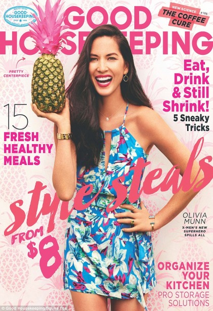 Olivia Munn talks Aaron Rodgers, hypnosis, junk food & her puppy, Chance