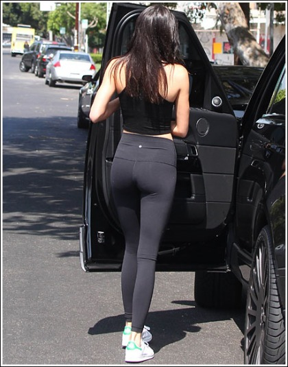 Kendall Jenner Shows Off Her Amazing Booty. And Legs. And Curves. And Etc?