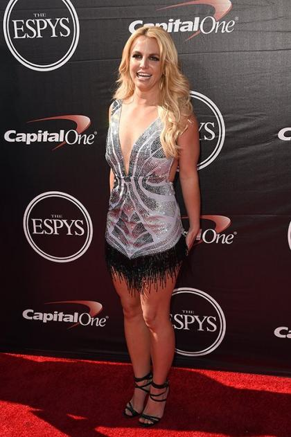 Britney Spears Stuns in Sequins at the 2015 ESPYS