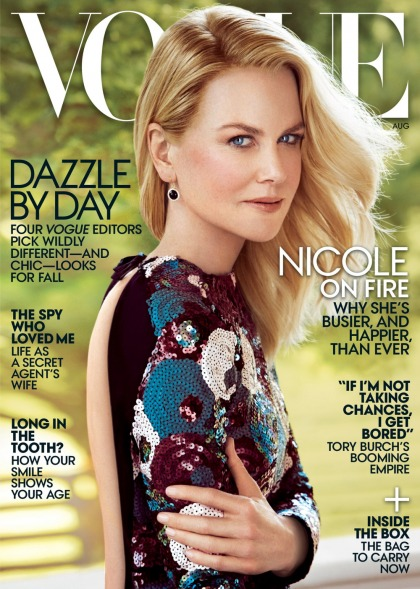 Nicole Kidman covers Vogue, says she didn't cooperate with HBO's 'Going Clear'