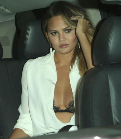 Why Is Chrissy Teigen Wearing A Bra?