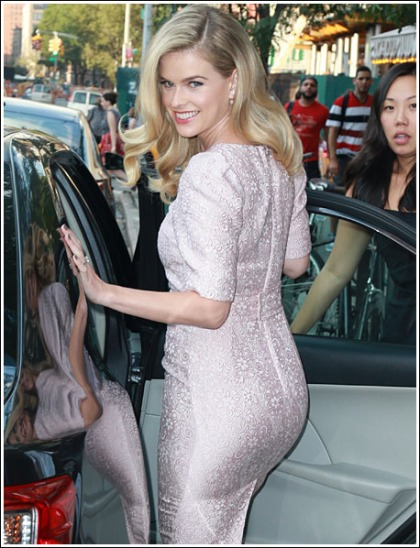 Alice Eve Busts Out Her Bootylicious Booty And Rollercoaster Curves