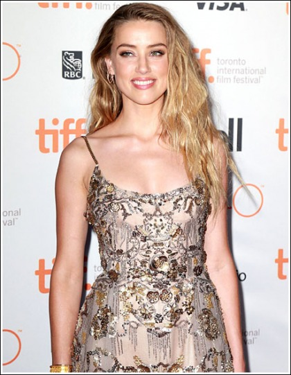 Amber Heard Drops Some Sexy Cleavage And Stunning Sexiness At TIFF