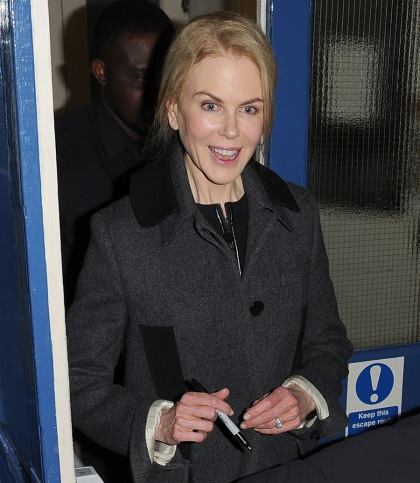 Nicole Kidman: 'My husband and I never text each other. We never do'