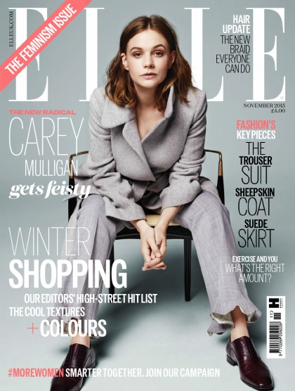 Carey Mulligan: 'The idea that women are inherently weak is mad'