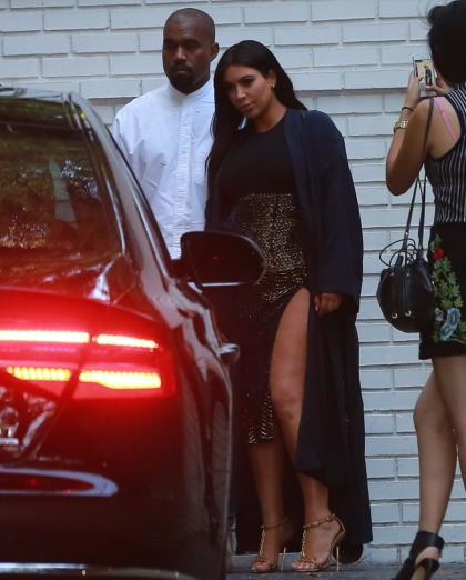 Kim Kardashian & Kanye cohost CFDA Vogue Fashion Fund event: cute?
