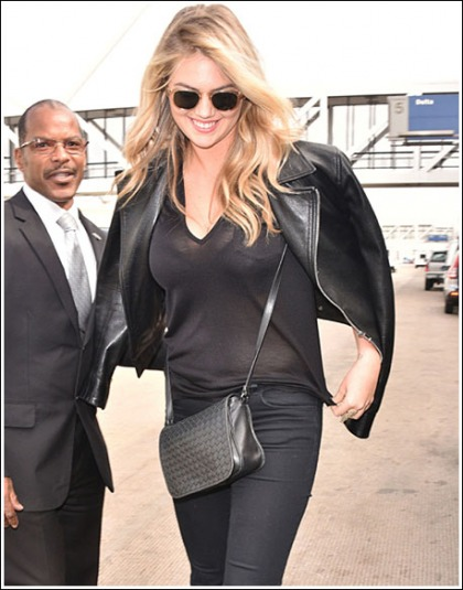Kate Upton Busts Out A Mega Bosom Show!