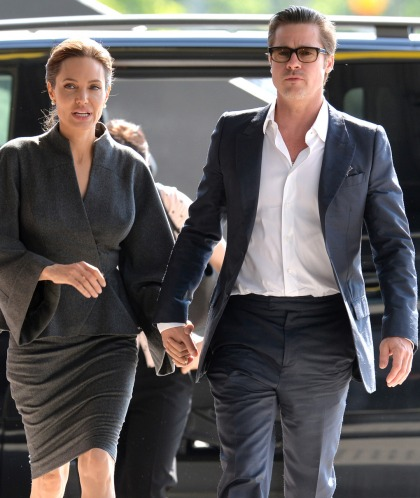 Brad Pitt: 'It's surprising how much I enjoy the direction of my wife'